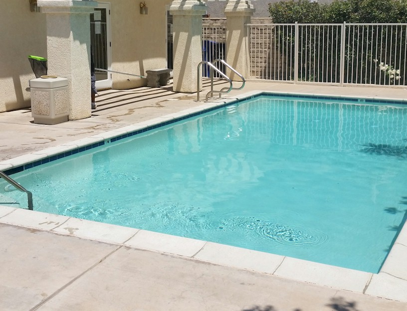 Polished Pools keeping HOA pool water sparkling fresh.